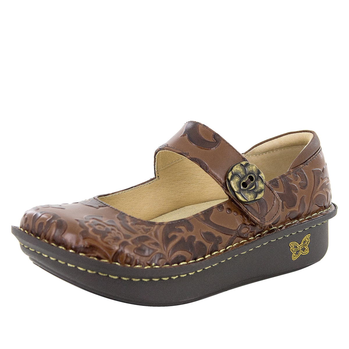 Paloma Yeehaw Brown - Alegria Shoes 3d674bbabf7
