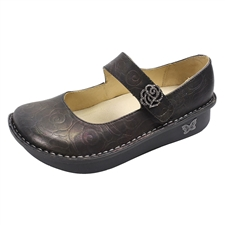 Alegria Paloma Rose Shadow leather comfort mary jane for women
