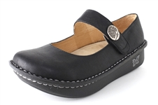 Alegria Paloma Black Magic womens comfort nursing shoes replaceable insoles