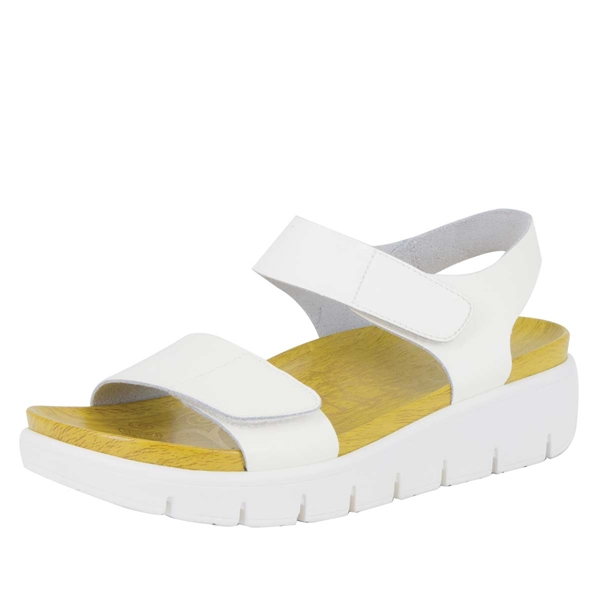 Alegria Playa Duo White Patent