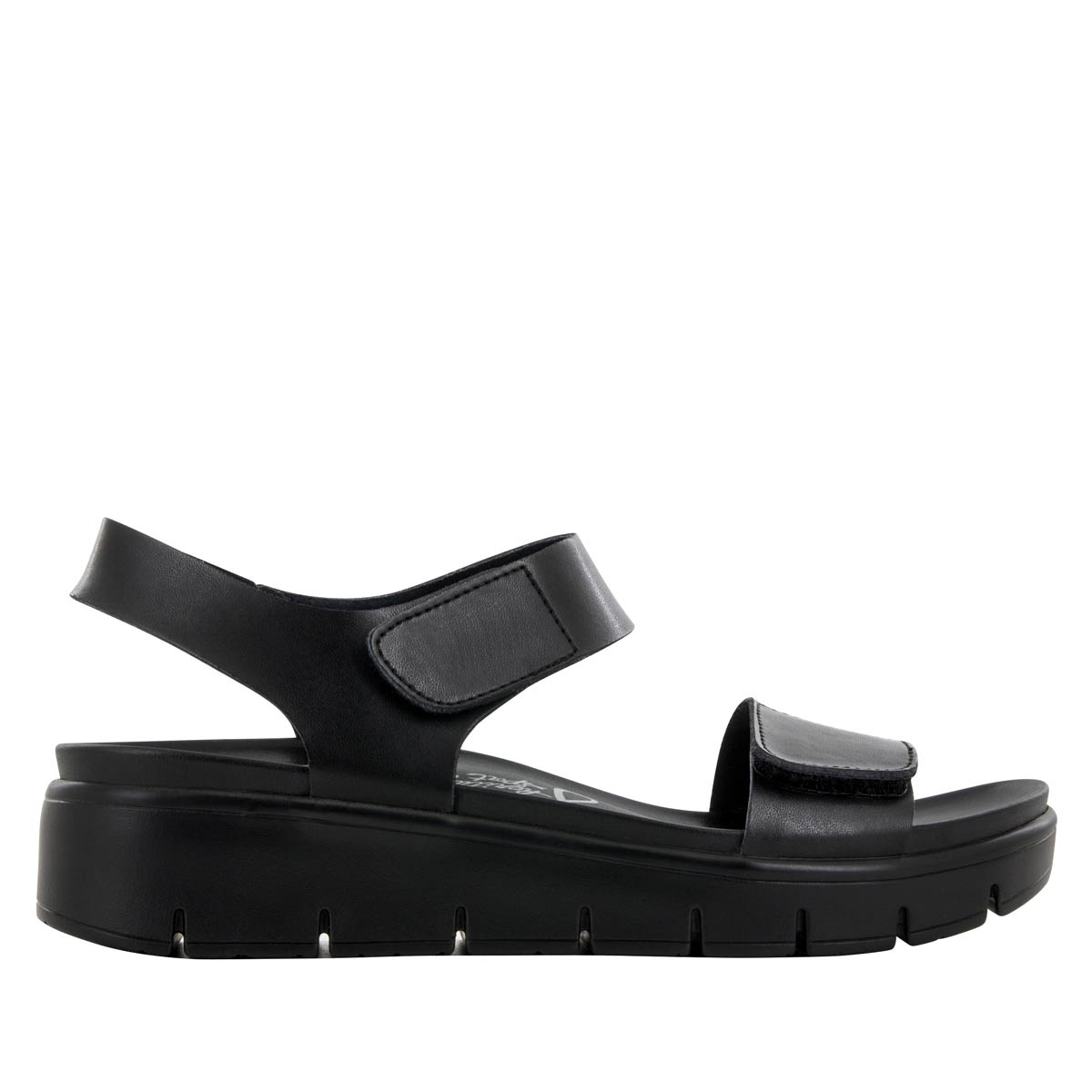 e574cf9e6 Playa Black Nappa Sandal - Alegria Shoes