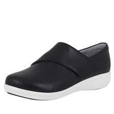 Traq Qin Black Nappa Shoe