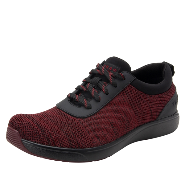 Men's Traq Quantum Maroon Black