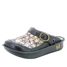 Alegria Seville Meow comfort clog shoes for women