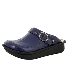 Alegria Seville Tetrus Blue comfort clog shoes for women