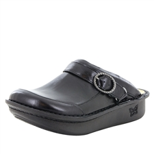Alegria Seville Jet Luster comfort nursing clogs for women with slip resistant bottoms