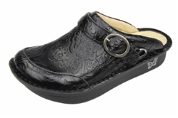 Alegria Seville Yeehaw Black comfort clog for women