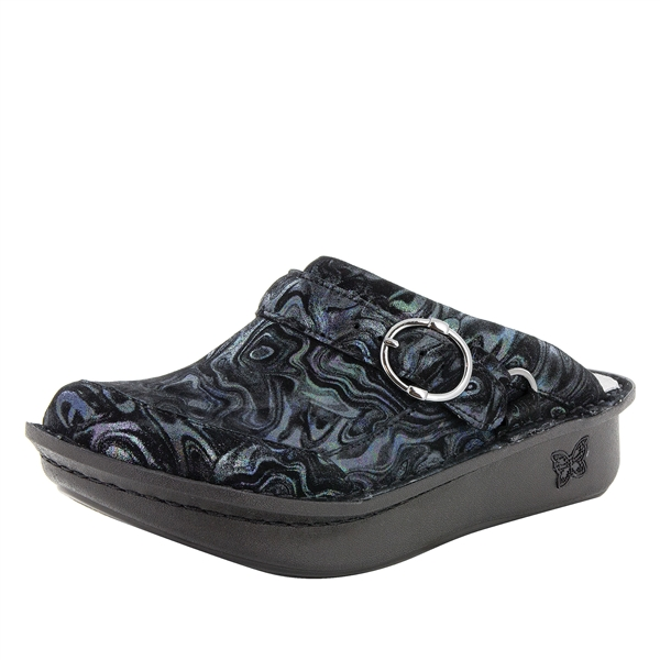 Alegria Seville Slickery comfort clog shoes for women