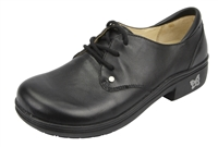 Alegria Tera Black Nappa womens oxford comfort shoe