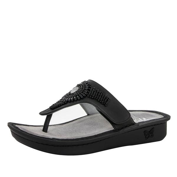 50ebcc68013ad Alegria Shoes - Vanessa Black Handcraft