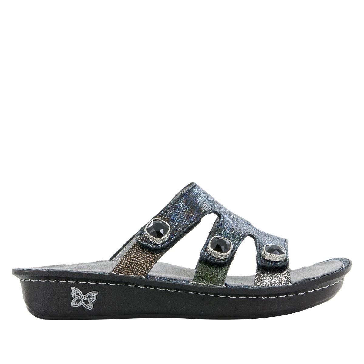 24568d5b635 Venice Glimmer Glam Sandals - Alegria Shoes