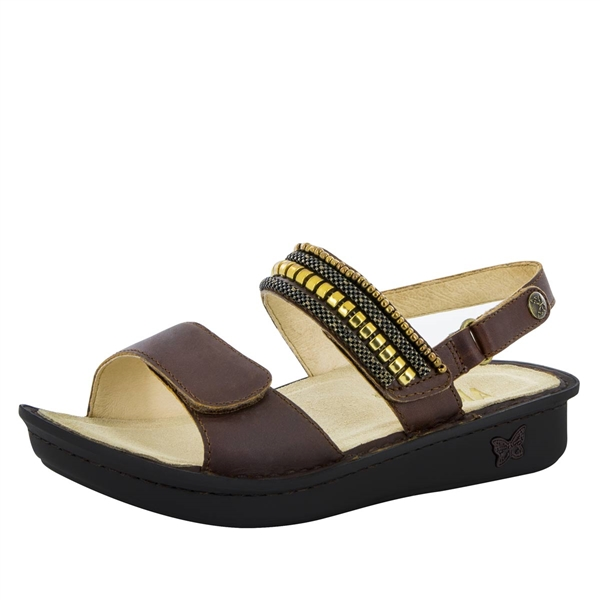 Alegria Verona Hickory Chain Gang womens leather comfort sandal