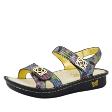 Alegria Vienna Shine On women's comfort sandal