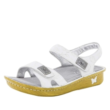 Alegria Vienna Morning Glory White women's comfort sandal