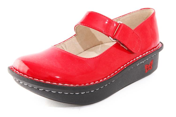 Alegria Shoes Vinca Paloma Red