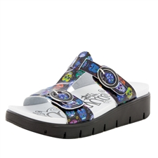 Alegria Vita Sugar Skulls comfort sandals for women